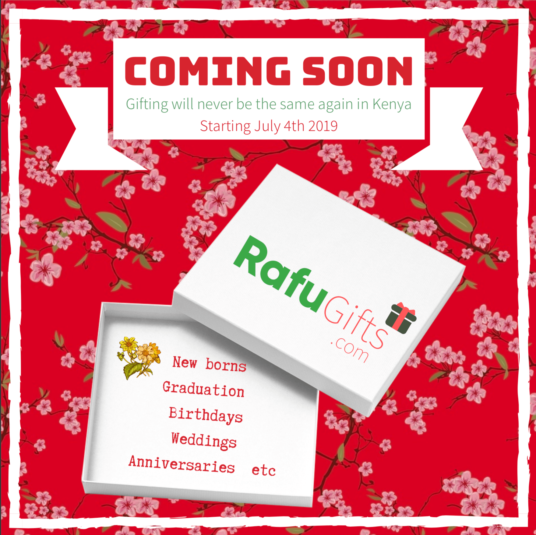 Rafu Gifts Coming Soon